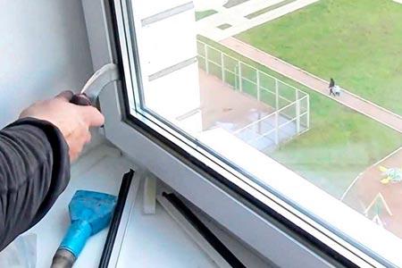 Сколько стоит вставить стекло в пластиковое окно